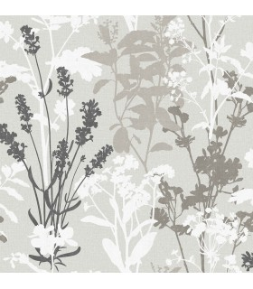 2814-24571 - Bath by Advantage Wallpaper-Pippin Wild Flowers