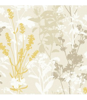 2814-24570 - Bath by Advantage Wallpaper-Pippin Wild Flowers
