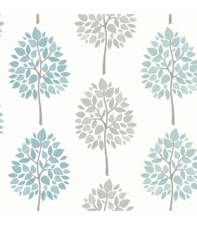 2814-24970 - Bath by Advantage Wallpaper-Saar Tree