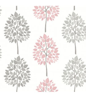 2814-24968 - Bath by Advantage Wallpaper-Saar Tree