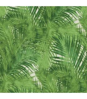 2814-805314 - Bath by Advantage Wallpaper-Tina Green Palms