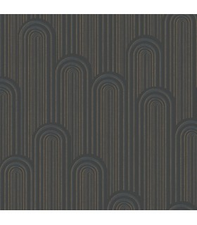 CA1540 - Deco Wallpaper by Antonina Vella-Speakeasy