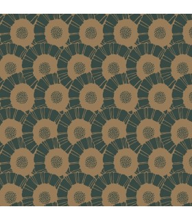 CA1560 - Deco Wallpaper by Antonina Vella-Coco Bloom