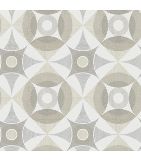 2821-25134 - Folklore Wallpaper by A Street Prints - Ellis Geometric