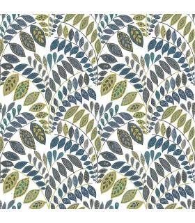 2821-25142 - Folklore Wallpaper by A Street Prints - Fiddlehead Botanical