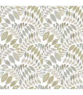 2821-25145 - Folklore Wallpaper by A Street Prints - Fiddlehead Botanical
