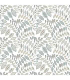 2821-25143 - Folklore Wallpaper by A Street Prints - Fiddlehead Botanical