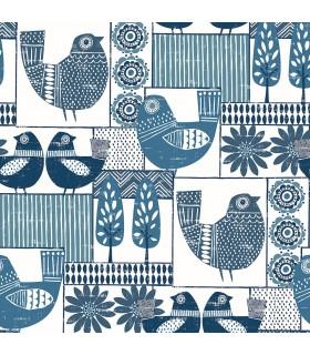 2821-25113 - Folklore Wallpaper by A Street Prints - Hennika Patchwork