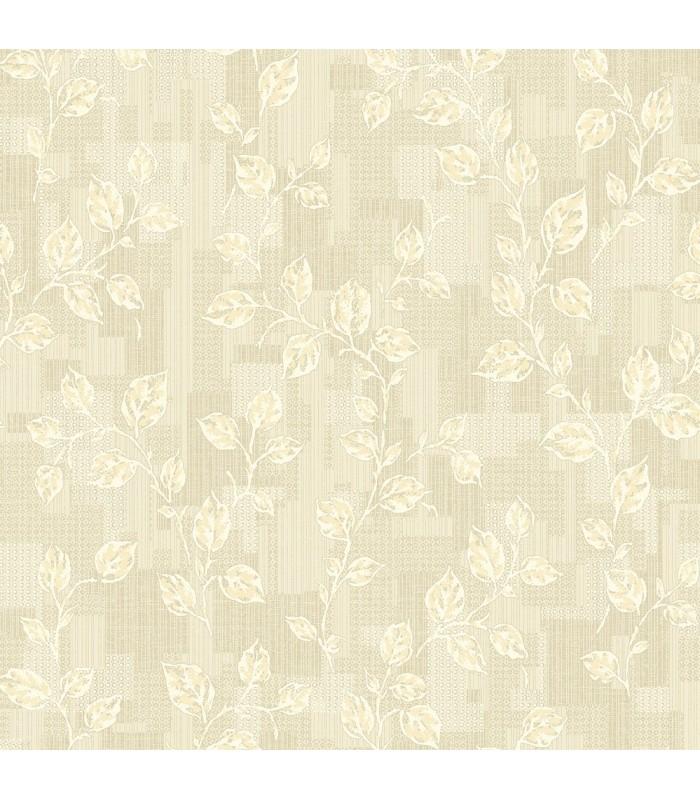 2813-SA1-1031 - Kitchen by Advantage Wallpaper-Child Leaf Patchwork