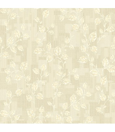 2813-SA1-1031 - Kitchen by Advantage Wallpaper-Child Leaf Patchwork