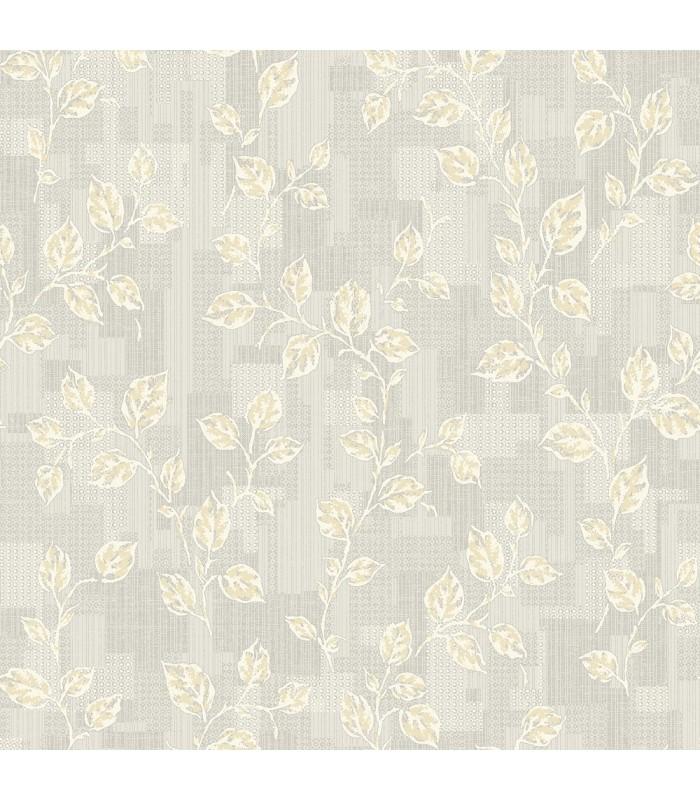 2813-SA1-1033 - Kitchen by Advantage Wallpaper-Child Leaf Patchwork