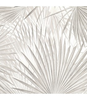 2813-803303 - Kitchen by Advantage Wallpaper-Ducasse Grey Palms