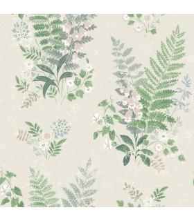 2827-7222 - In Bloom Wallpaper by Borastapeter-Foxglove Multicolor Botanical
