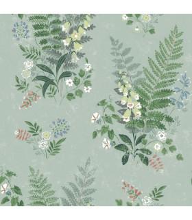 2827-7221 - In Bloom Wallpaper by Borastapeter-Foxglove Sage Botanical