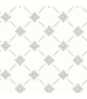 2827-4505 - In Bloom Wallpaper by Borastapeter-Linne Geometric Floral