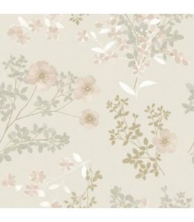 2827-7231 - In Bloom Wallpaper by Borastapeter-Prairie Rose Floral