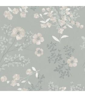2827-7233 - In Bloom Wallpaper by Borastapeter-Prairie Rose Floral