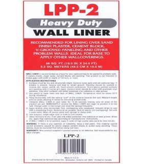 LPP-2 - Wall Liner Wallpaper-Heavy Duty by Patton/Norwall