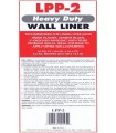 LPP-2 -Heavy Duty Wall Liner