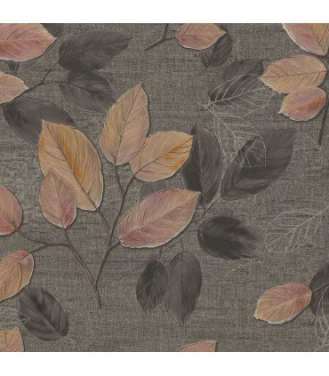 2835-D140404 - Advantage Deluxe Wallpaper-Dorado Leaf Toss