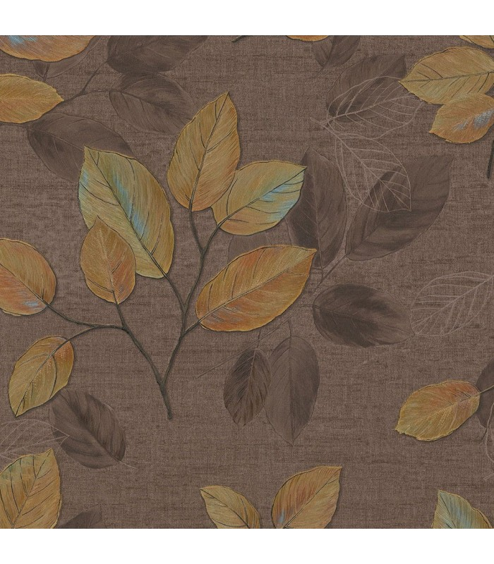 2835-D140403 - Advantage Deluxe Wallpaper-Dorado Leaf Toss