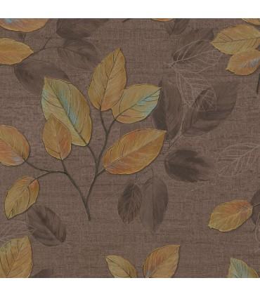 2835-D140403 - Advantage Deluxe Wallpaper-Dorado Leaf Toss