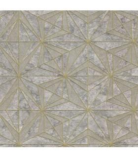 2835-C88615 - Advantage Deluxe Wallpaper-Los Cabos Geometric Marble