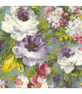 2835-SY5113P- Advantage Deluxe Wallpaper-Macau Painterly Floral