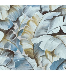 2835-SY5153P- Advantage Deluxe Wallpaper-Mardan Banana Leaf