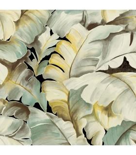 2835-SY5151P- Advantage Deluxe Wallpaper-Mardan Banana Leaf
