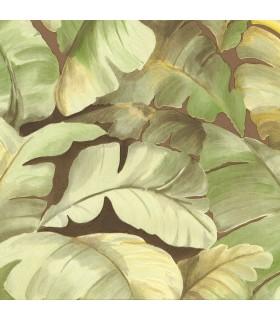 2835-SY5152P- Advantage Deluxe Wallpaper-Mardan Banana Leaf