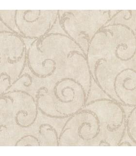 2830-2739 - Cortina 4 Wallpaper by Warner Textures-Sansa Plaster Scroll