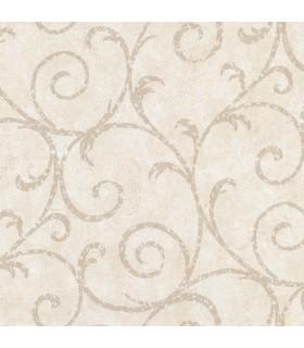 2830-2735 - Cortina 4 Wallpaper by Warner Textures-Sansa Plaster Scroll