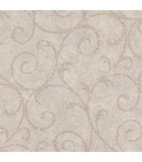 2830-2737 - Cortina 4 Wallpaper by Warner Textures-Sansa Plaster Scroll