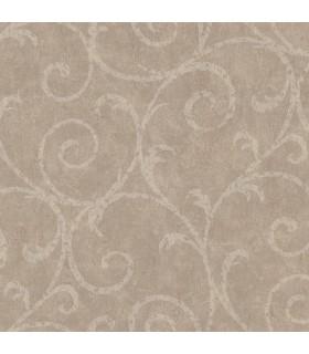 2830-2738 - Cortina 4 Wallpaper by Warner Textures-Sansa Plaster Scroll