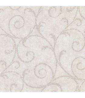 2830-2734 - Cortina 4 Wallpaper by Warner Textures-Sansa Plaster Scroll