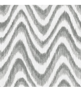 2901-25407 - Perennial Wallpaper by A Street-Bargello Faux Grasscloth Wave