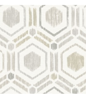 2901-25434 - Perennial Wallpaper by A Street-Borneo Geometric