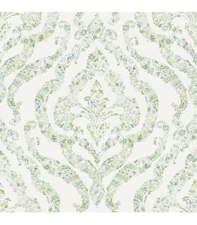 2901-25404 - Perennial Wallpaper by A Street-Featherton Floral Damask
