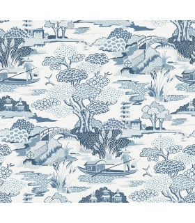 2901-87507 - Perennial Wallpaper by A Street-Joy De Vie Toile