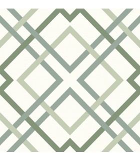 2901-25437 - Perennial Wallpaper by A Street-Saltire Emile Lattice