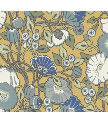 CY1514 - Conservatory Wallpaper by York-Vincent Poppies