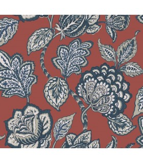 CY1536 - Conservatory Wallpaper by York-Mid Summer Jacobean