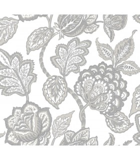CY1538 - Conservatory Wallpaper by York-Mid Summer Jacobean