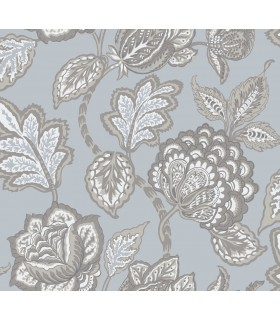 CY1540 - Conservatory Wallpaper by York-Mid Summer Jacobean