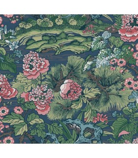 CY1544 - Conservatory Wallpaper by York-Dynasty Floral Branch