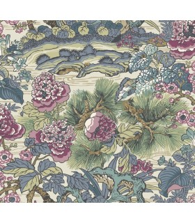 CY1545 - Conservatory Wallpaper by York-Dynasty Floral Branch