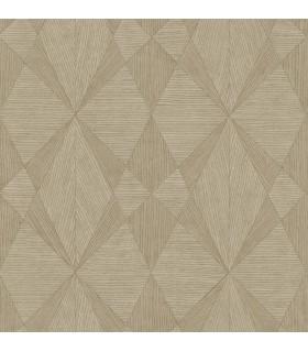 2908-25330 - Alchemy Wallpaper by A Street-Intrinsic Geometric Wood