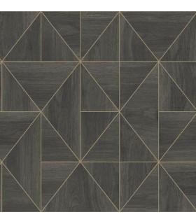 2908-25321 - Alchemy Wallpaper by A Street-Cheverny Geometric Wood