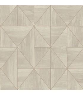 2908-25324 - Alchemy Wallpaper by A Street-Cheverny Geometric Wood